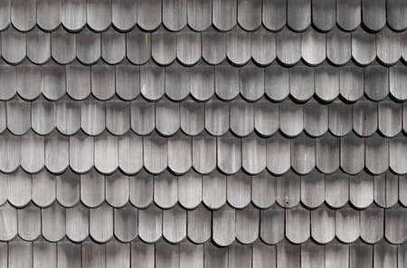 proven: Wooden roof tiles texture Stock Photo
