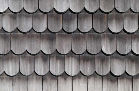 tejas: Tejas de madera textura viejo Foto de archivo