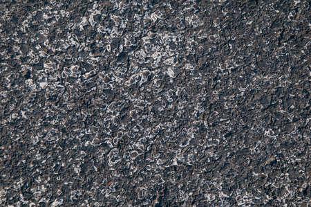 new path: raw asphalt on a road Stock Photo
