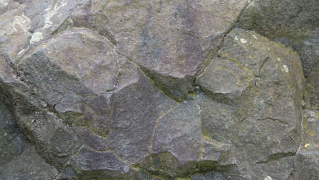 hardrock: Basalt rock texture background Stock Photo