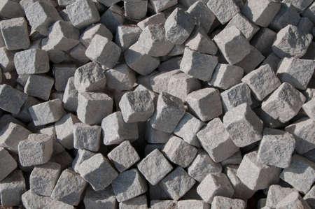 firmeza: Un montón de adoquines piedras textura Foto de archivo