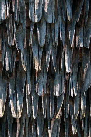 shingles: Tejas de madera textura viejo Foto de archivo