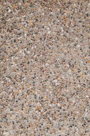 on aggregate: Exposed aggregate concrete texture
