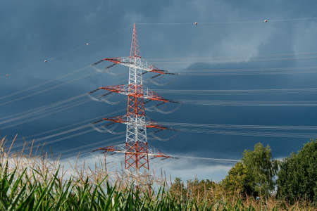 electrochemical: Tall electrical tower