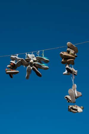 Flensburg, Shoes on line at Norderstreet