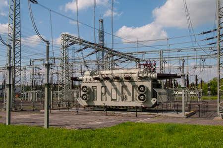 Transformer Station, Substation Standard-Bild - 118157561