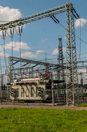 Transformer Station, Substation Standard-Bild - 118157570