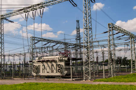 Transformer Station, Substation Standard-Bild - 118157637