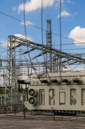 Transformer Station, Substation Standard-Bild - 118157640