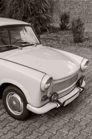Oldtimer car of the former German Democratic Republic called