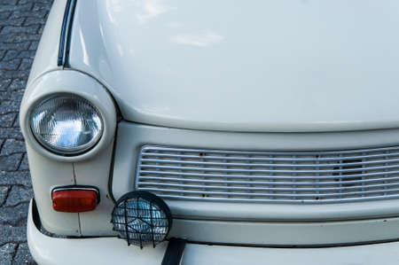 Oldtimer car of the former German Democratic Republic called Trabbi