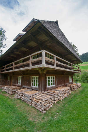 typical house at the german black forrest region