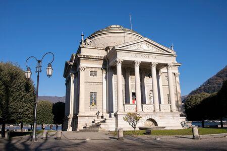 Tempio Voltiano Tempio neoclassico dedicato ad Alessandro Volta