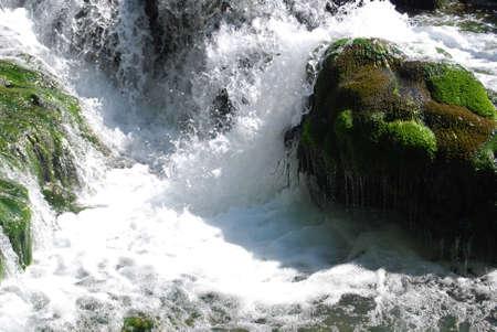 cascade: Cascade falls turmoil Croatia landscape