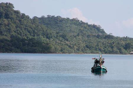 fisherman boat photo