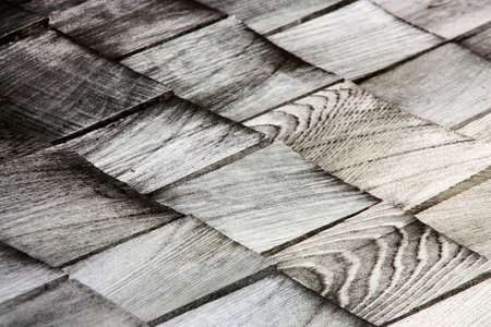 wooden roof photo