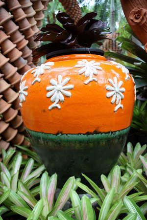earthen: Vaso di terracotta. Archivio Fotografico