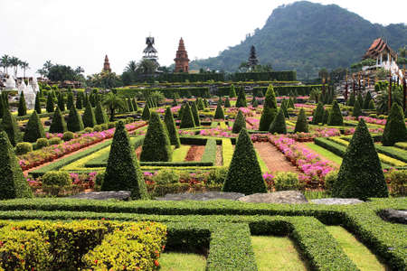 Nong Nooch Tropical Garden   Stock Photo - 13196933