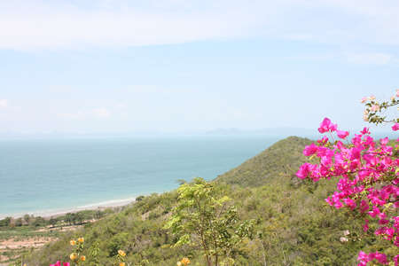 panoramic viewpoint koh lan, pattaya, thailand  photo