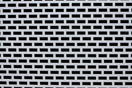 white Grating Stock Photo