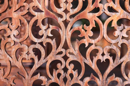 Thai style wood carving patterns Stock Photo - 19382076