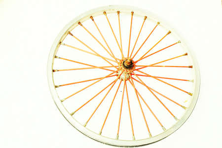 Bicycle wheel  photo