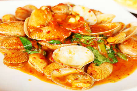 Clams with Chili Paste