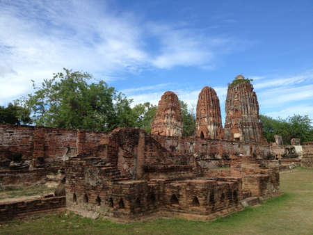 ayuthaya: Ayuthaya ancient city Thailand