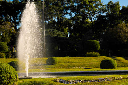 Fountain of the French park of Rosario Argentina