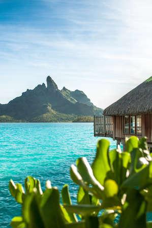tahiti: Bora bora background Editorial