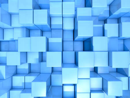 청록색 큐브