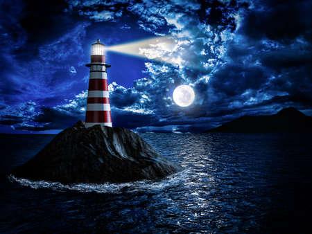 달빛의 등대