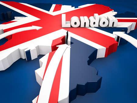 런던 목적지