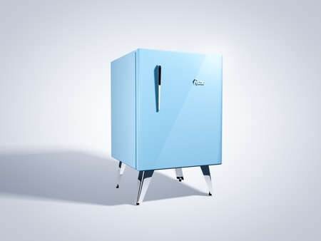 Kleiner Vintage Kühlschrank : Blaue retro kühlschrank lizenzfreie fotos bilder und stock