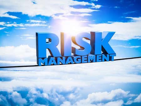 risk management: Risk management Stock Photo