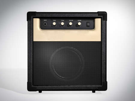 amplification: Amplifier front view