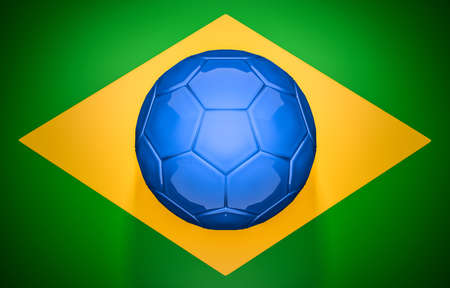 브라질 축구 깃발