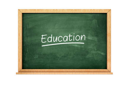 Education chalkboard Imagens