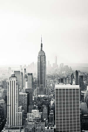 New York city in black and white Stok Fotoğraf