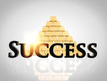 성공 개념 일러스트레이션 스톡 콘텐츠