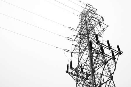 electric grid: alternative, architecture, blue, built, cable, cloudy, current, danger, distribution, electric, electrical, electricity, energetic, energy, engine, engineering, environment, equipment, evening, frame, generation, generator, grid, high, industrial, industr Stock Photo