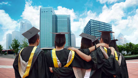 Group of graduates will face the modern city