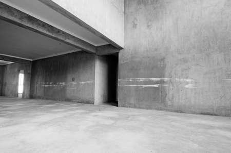 Salle vide avec la lumi�re du soleil Banque d'images