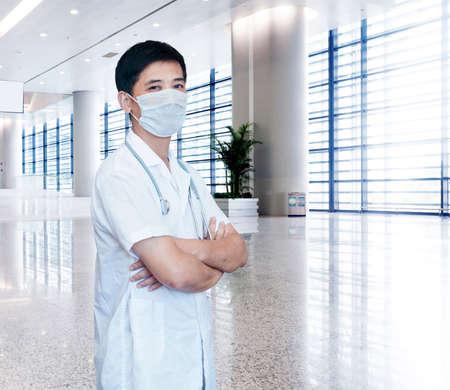 expertise handsome senior doctor hospital portrait   Photo Illustration   illustration