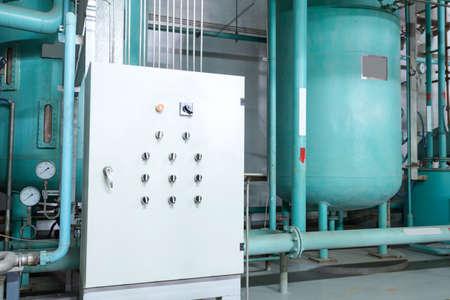 Large industrial boiler room Stock fotó