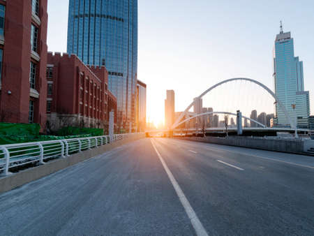 City sunrise Stock fotó