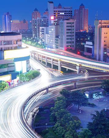City Scape of the nanchang china photo