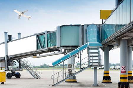 aerobridge at airport