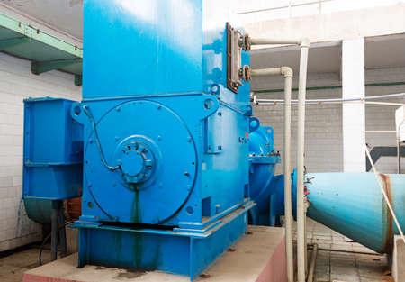 sedimentation: Modern urban wastewater treatment plant