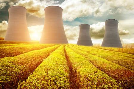 원자력 에너지 스톡 콘텐츠
